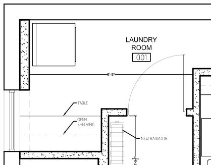 Laundry plans detail