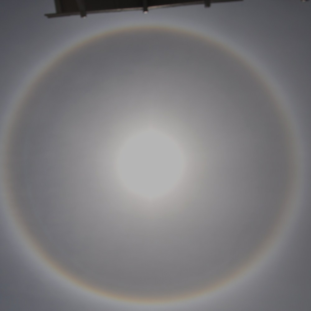 Pictures Of A Sun Halo Around The Sun on June 26, 2011