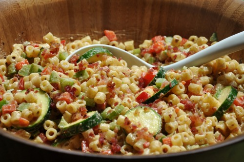 Fun Foods For The 4th – White Bacon Ditali Salad