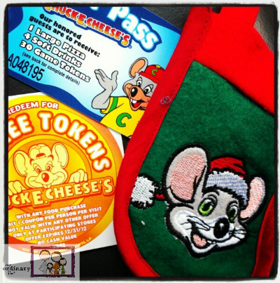 Free Chuck E. Cheese's Holiday Stocking and Holiday Song Download – Giveaway