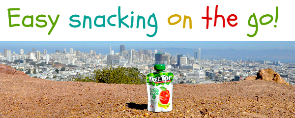 Fun On The Go With Tree Top Apple Sauce Pouches