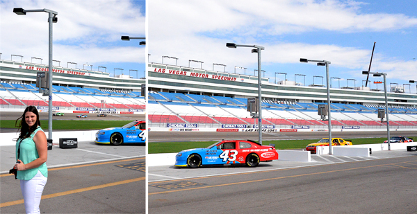 Richard Petty Driving Experience Las Vegas Car 43