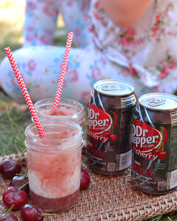 Dr Pepper Cherry Root Beer Floats Vanilla Ice Cream (1)