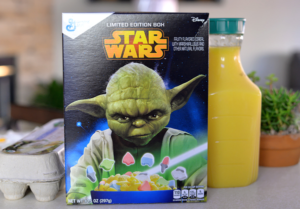 GM StarWars Limited Edition Cereal Box