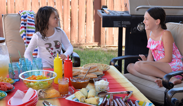 Get Outdoors – A Simple Summer BBQ