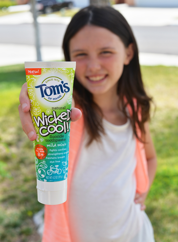 Toms of Maine Kids Natural Mint  Toothpaste