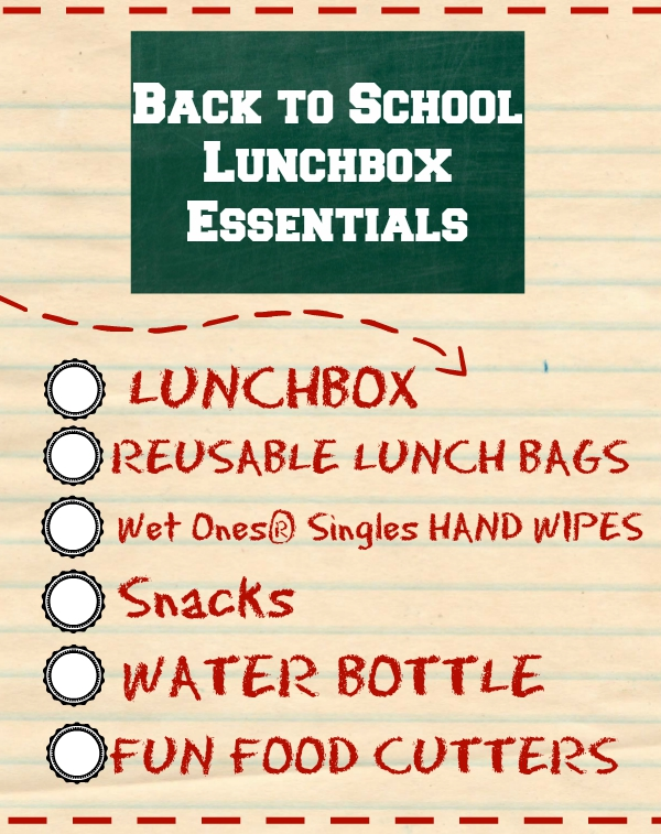 back to school lunchbox essentials