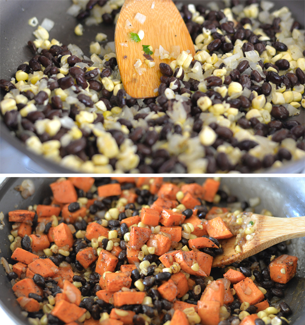 HelloFresh Sweet Potato Cilantro Corn Black bean Tacos (4)
