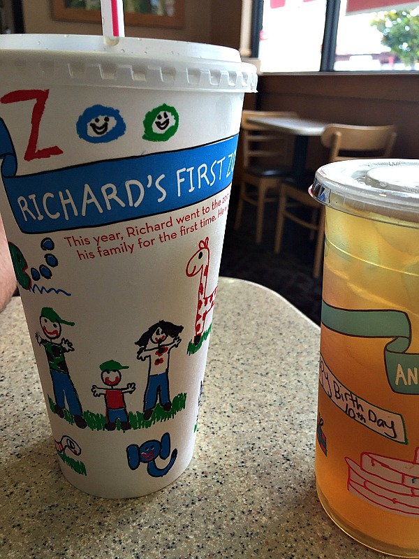 wendys cups