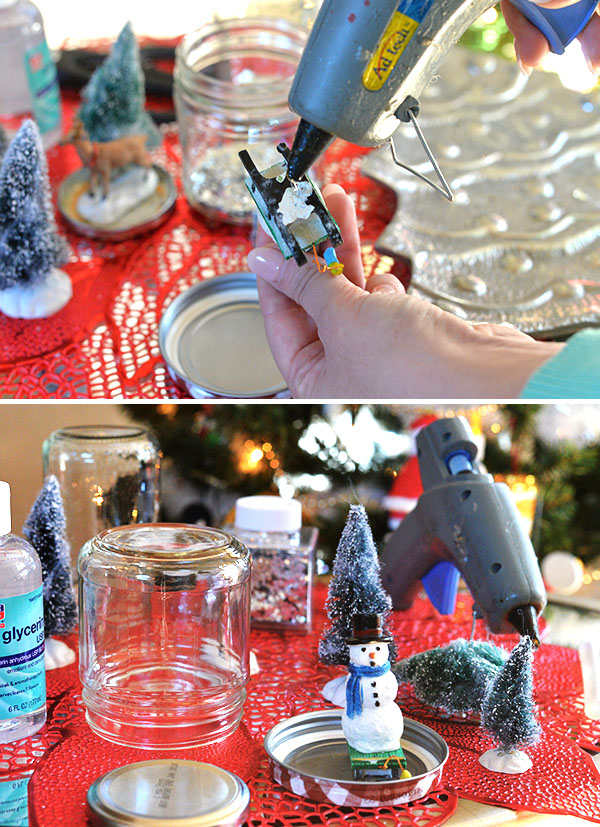 How To make  Snowglobe