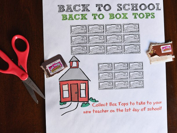 Earn money For Schools With Box Tops