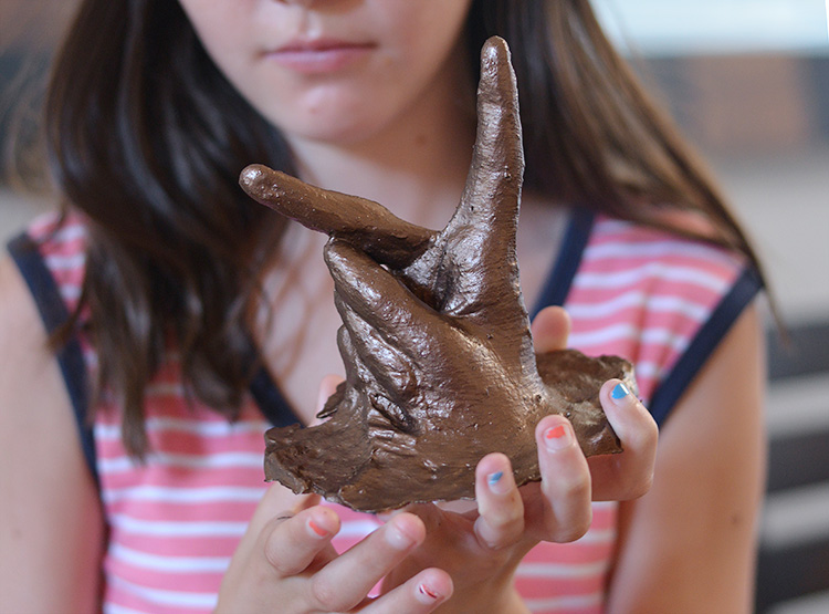 Hand Casted To Look Like Bronze
