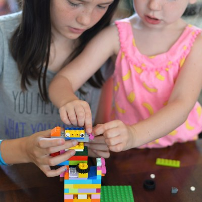 Letting Their Imaginations Run Free With LEGO® Classic Building Blocks