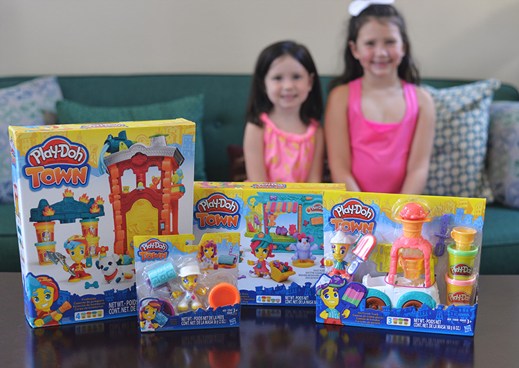 PlayDoh Town Playsets