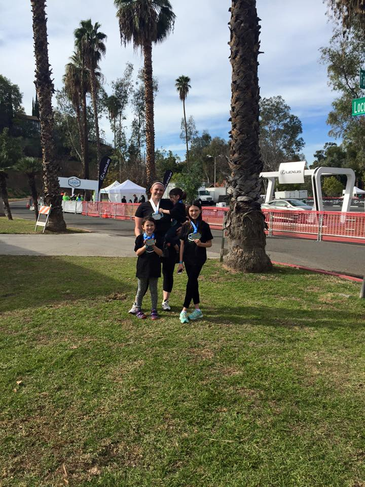 lexus half marathon with kids