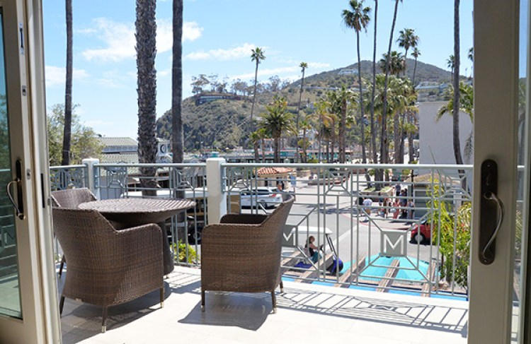 metropole catalina islands ca deck of suite
