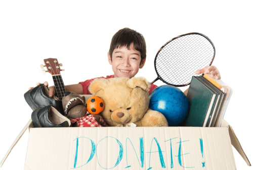 Declutter & Donate: How To Clear Out Your Home and Your Life