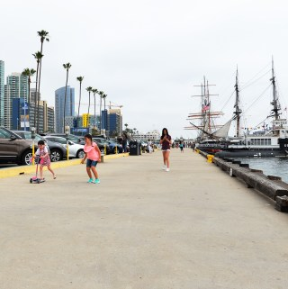 Downtown San Diego Down maritime museum socal fmaily activities california destinations