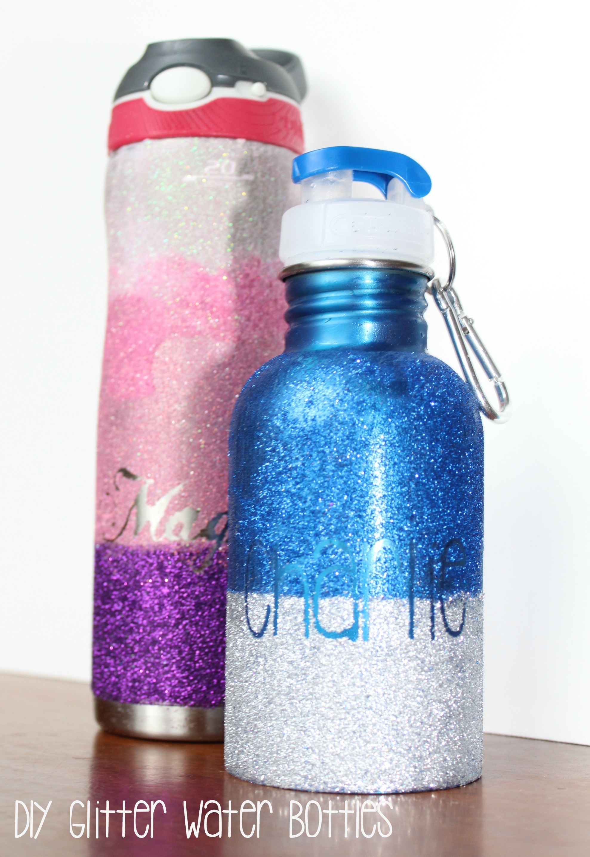 Diy Personalized Glitter Water Bottle