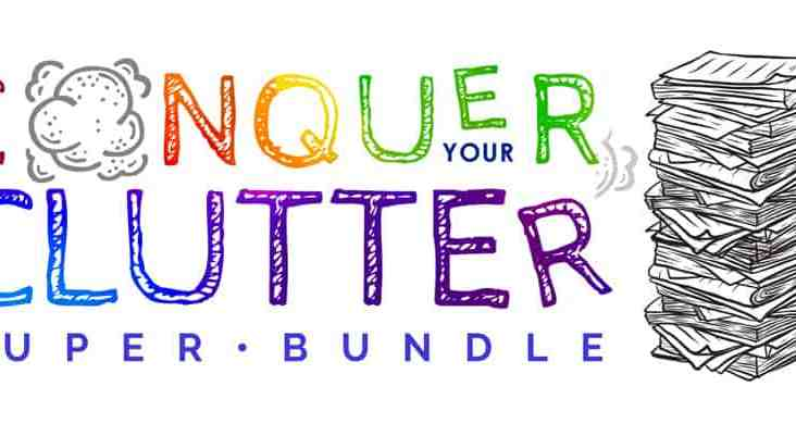 Conquer Your Clutter Bundle. Conquer Clutter | Organization Bundle | Homemaking. www.ourprovidenthomestead.com