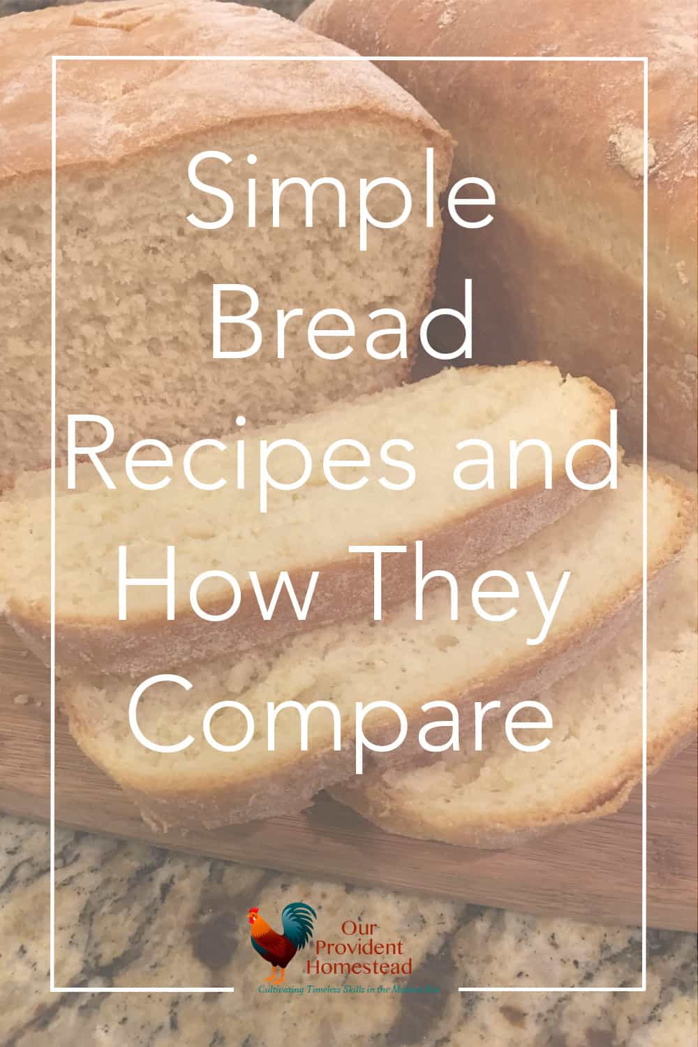 Do you struggle to make fresh bread for your family? I tried three easy bread recipes and compared how they look and taste. Bread Recipes | Homemade Bread | Homemaking