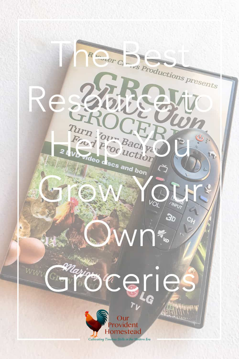 Do you need help learning how to grow your own food? We discuss the best resource to help you grow your own groceries and where to find it. Growing Food | Homesteading Help | Grow Groceries