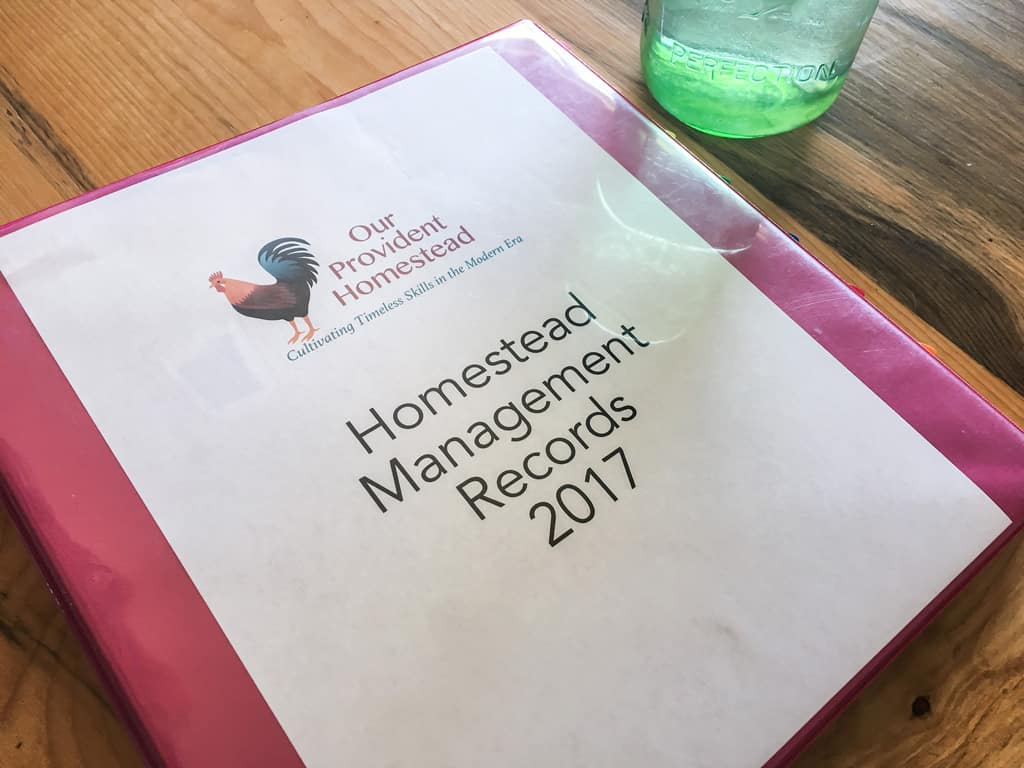 Would you like to know if your homestead is profitable? Let's talk about homestead management and keeping your homesteading records organized. Homesteading Records | Homesteading Management | Keeping Records