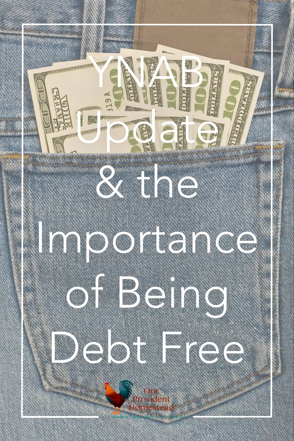 Do you dream of living debt free? We want to share YNAB with you and discuss 7 reasons why living debt free is a goal worth working for. #ynab #debtfree #debtfreedom #familyfinances