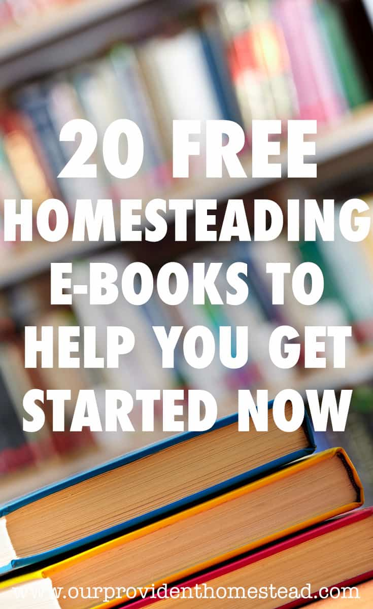 free homesteading ebooks pin