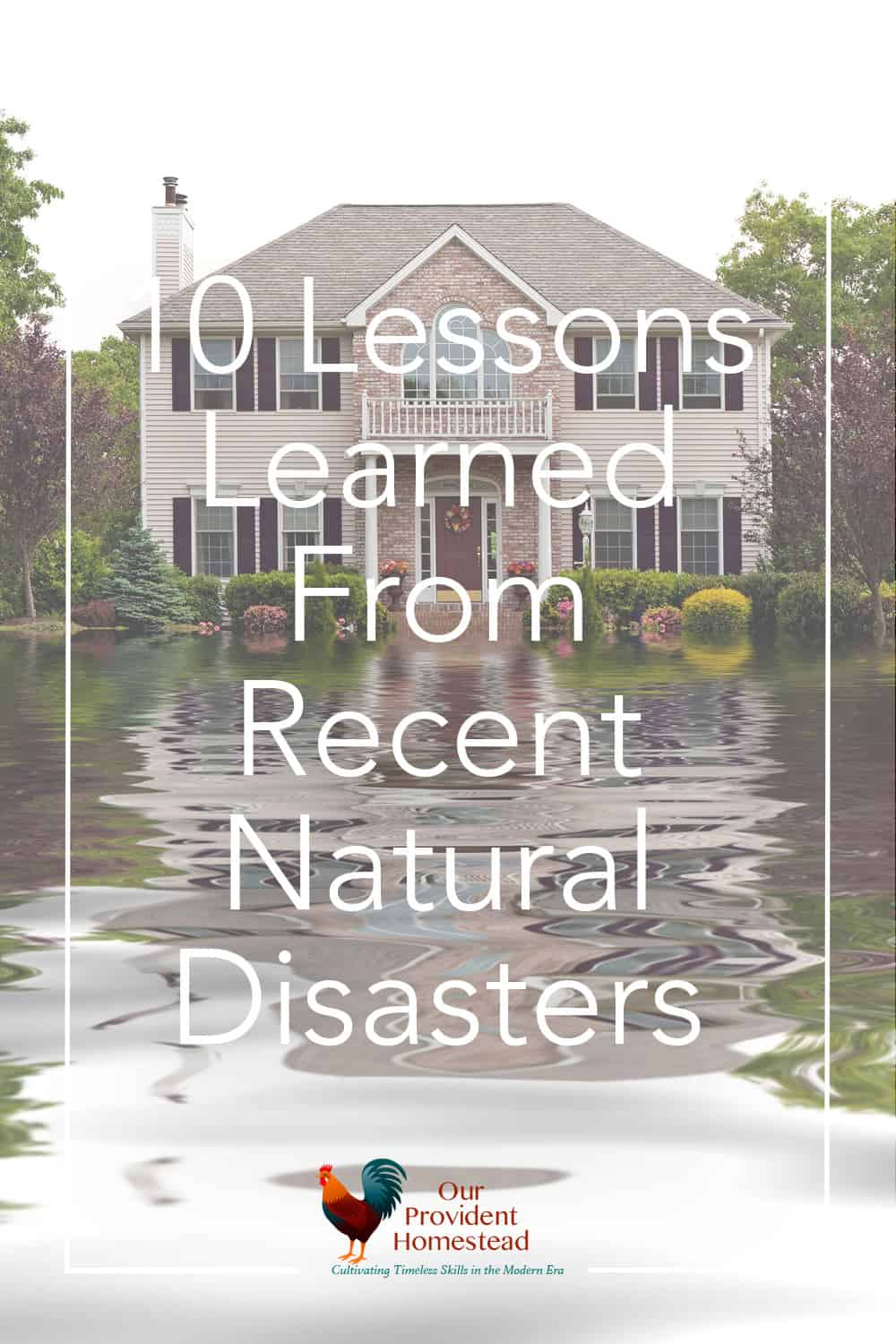 Do all of the natural disasters on the news scare you? Click here to see what you can do to protect your family for future emergencies. Emergency Preparedness | Lessons Learned | Natural Disasters