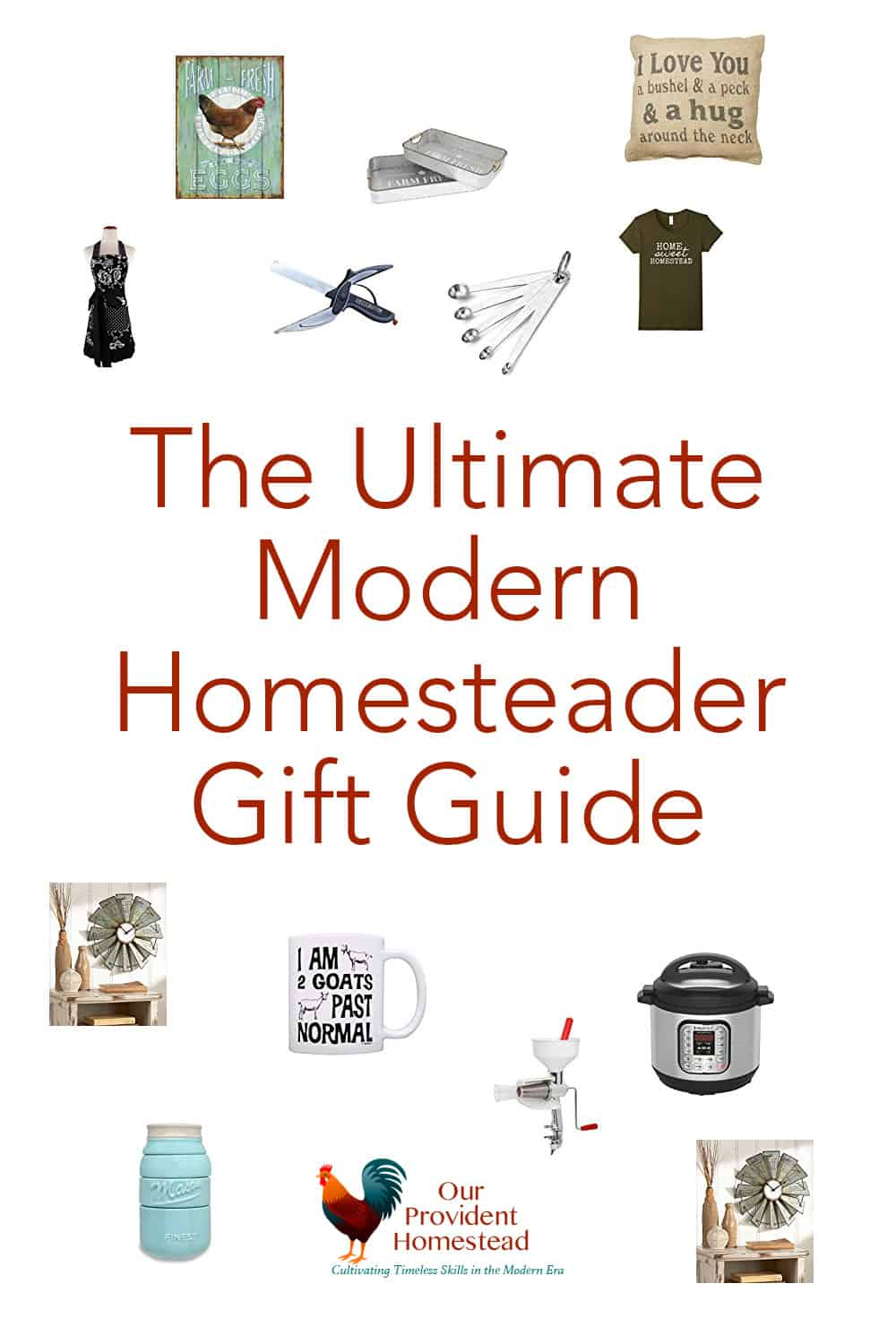 Do you have a homesteader on your gift list this year? Check out this ultimate modern homesteader gift guide and you might find something for you too! #giftguide #Christmas2018 #holidays #Christmas