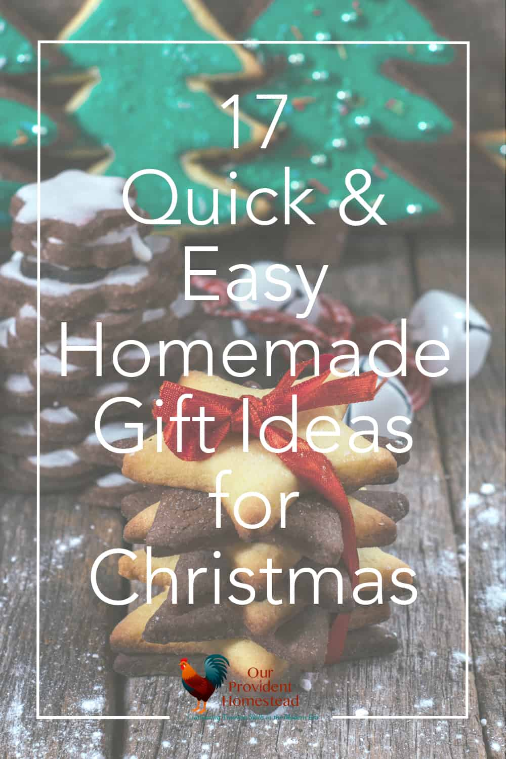 Do you want to give a homemade gift for the holidays this year? Click here to get these 17 quick and easy homemade gift ideas for a DIY Christmas. #homemade #diy #christmas #giftideas
