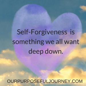 Why Self-Forgiveness is not as Easy as Forgiving Others.