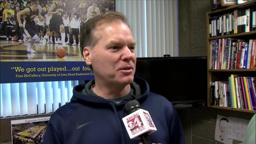 Augustana Head Coach Grey Giovanine Hall of Fame Bound