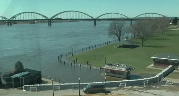 Flooding in Davenport