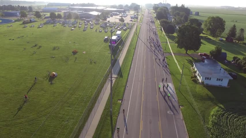 RAGBRAI drone video