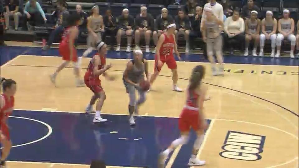 Augustana women's basketball falls at home