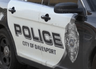 Davenport Police car
