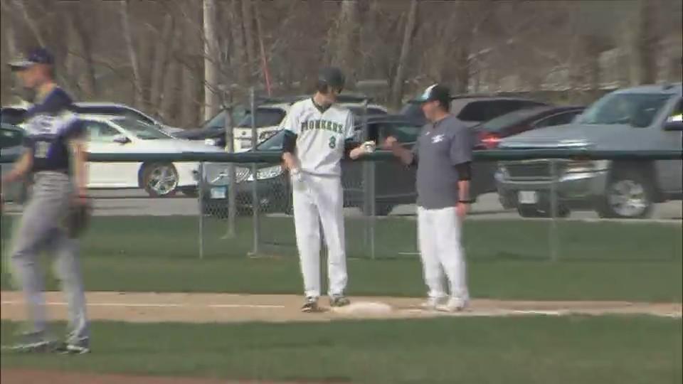 Alleman Baseball wins 8-1 over Roseville Titans.