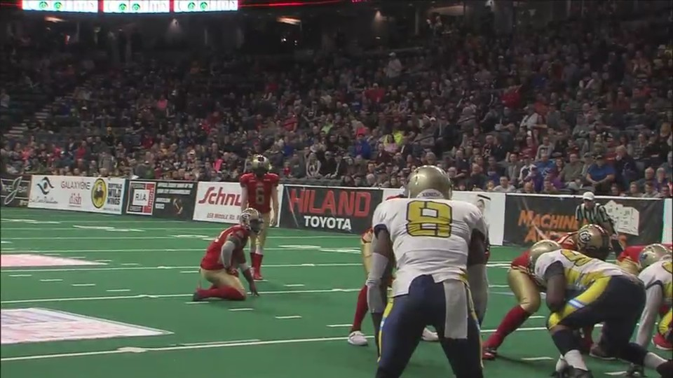 Steamwheelers kicker Jacob Stytz impressing early on