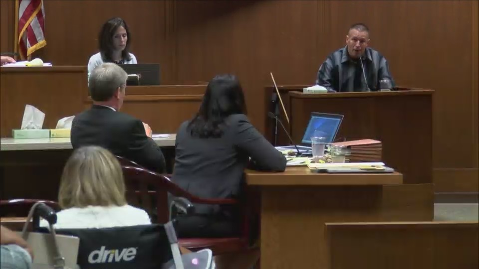 Behning takes the stand