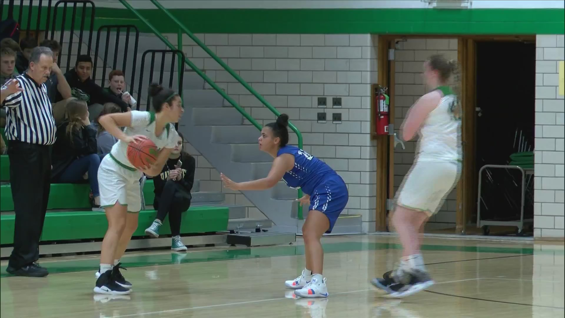 Alleman girls fall to Quincy at home