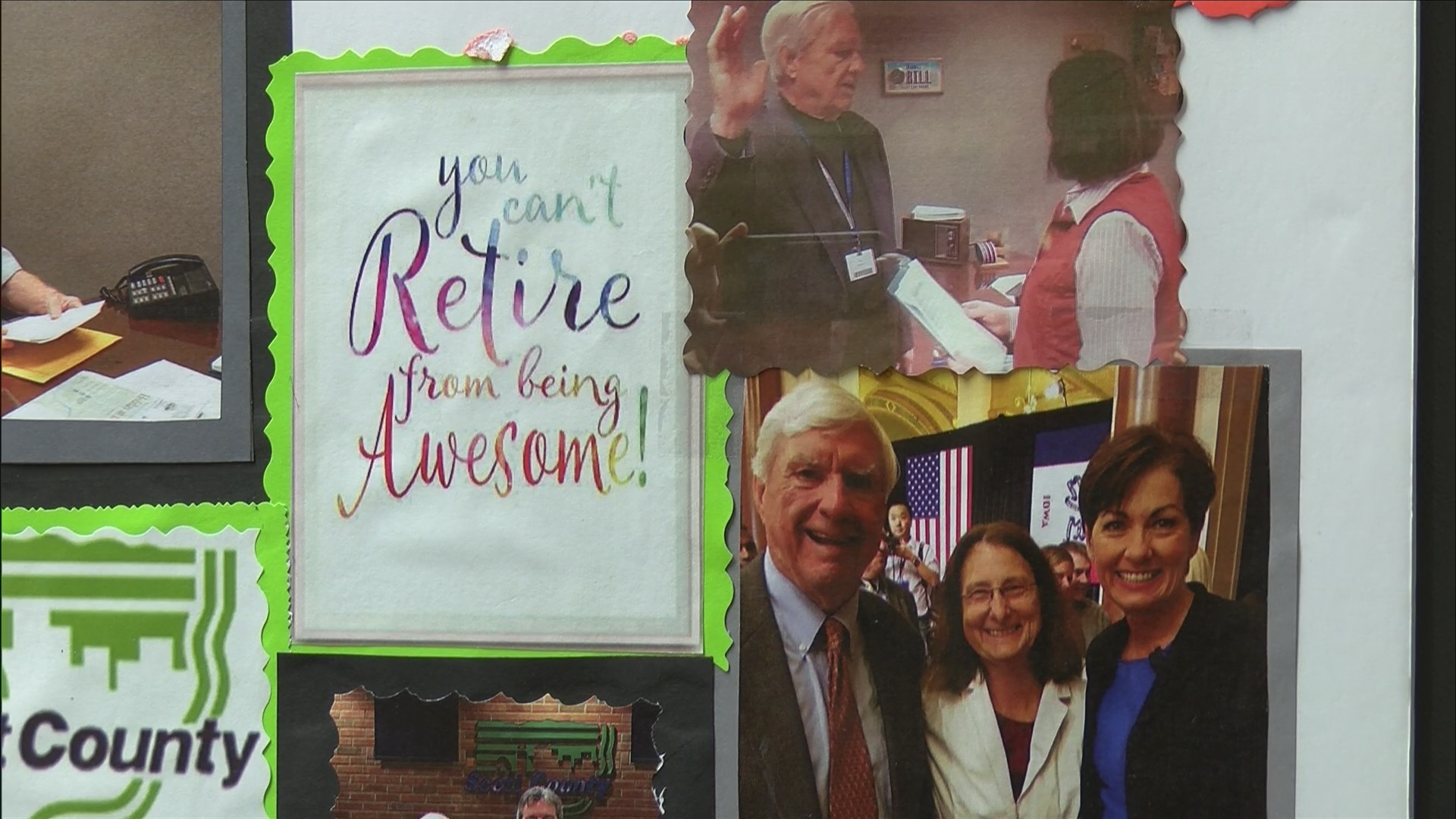 Bill Fennelly says goodbye to public service