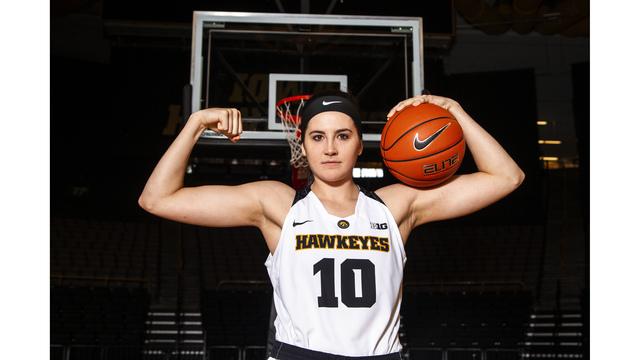 Iowa Megan Gustafson Basketball_1551733152670