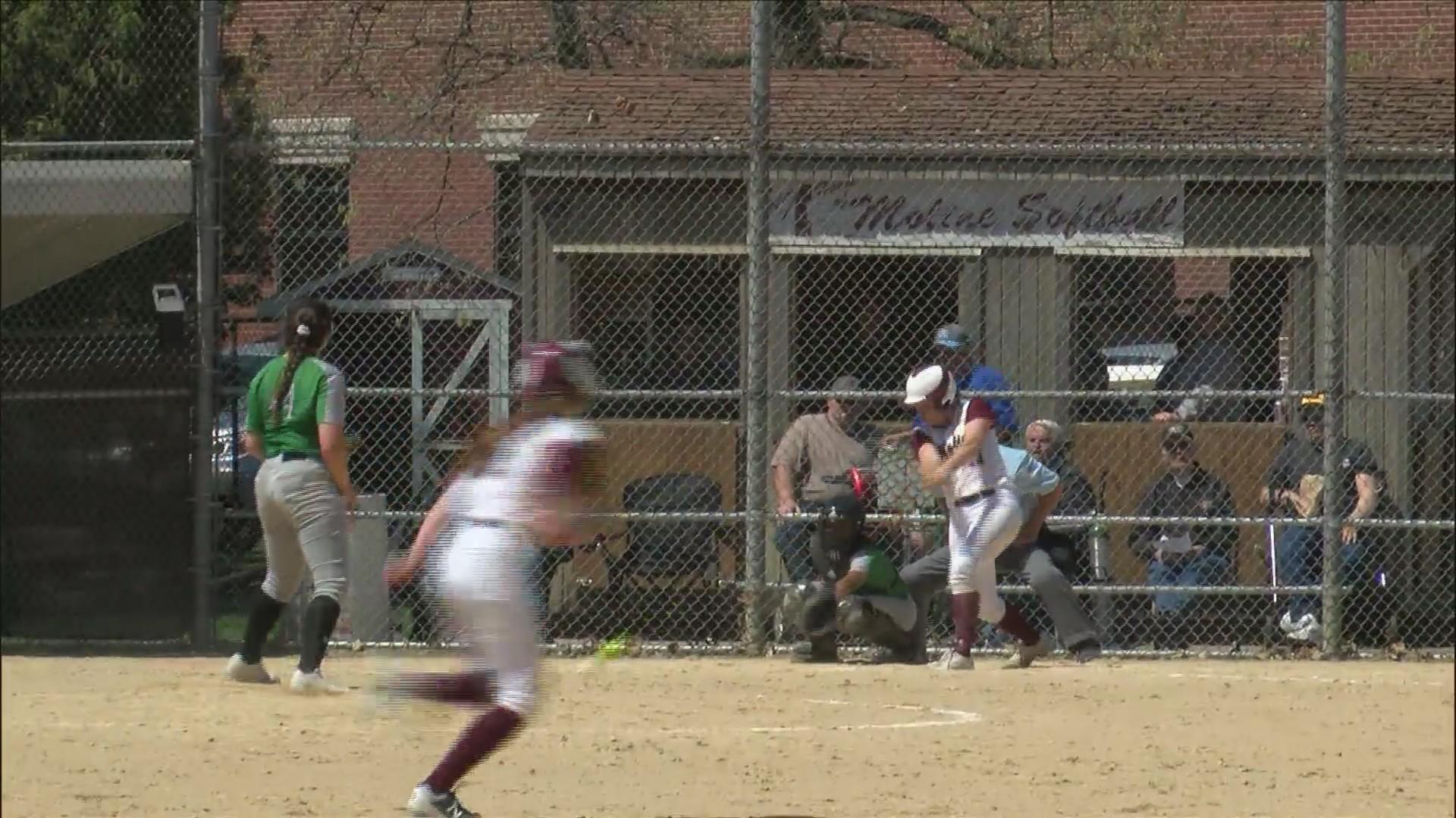Moline softball sweeps Alleman