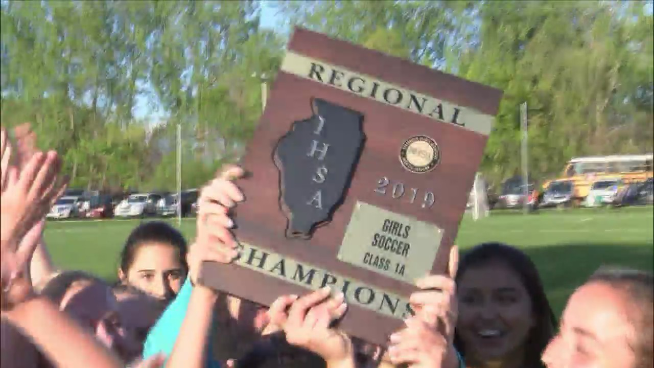 Alleman girls soccer routs Princeton for another regional title