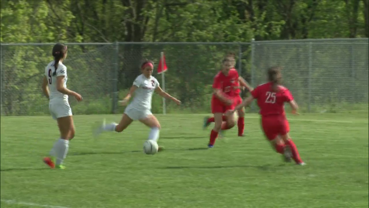 Assumption earns share of MAC girls soccer title with 10-0 win over West