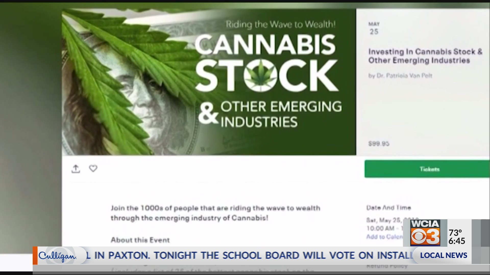 Senators pledge ethical safeguards to prevent insiders from profiting on pot