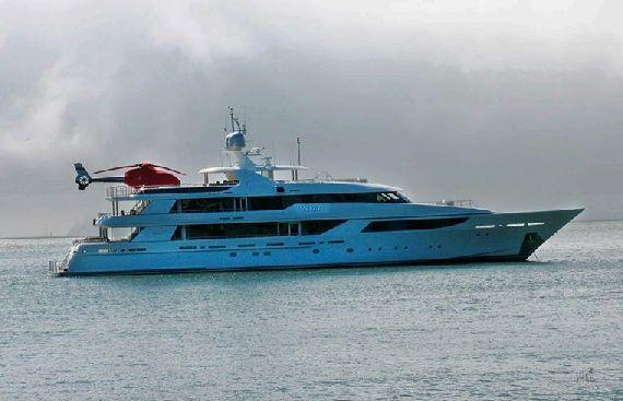Super Yacht Vango Anchors Off Sausalito