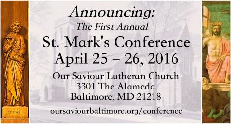 st mark conference flier